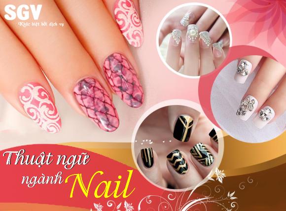 Thuật ngữ ngành Nails
