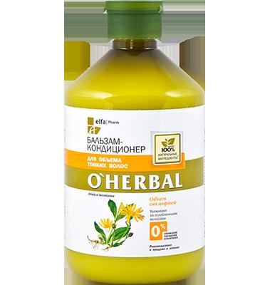 Dầu xả dành cho tóc mảnh, mỏng O'Herbal