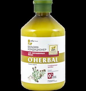 Dầu xả thảo dược dành cho tóc nhuộm O'Herbal, 500 ml